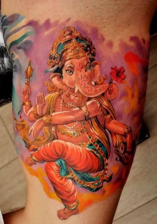 hinduism tattoos photo - 4