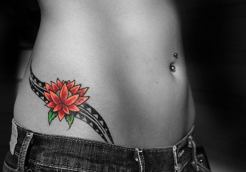 hip tattoos photo - 3