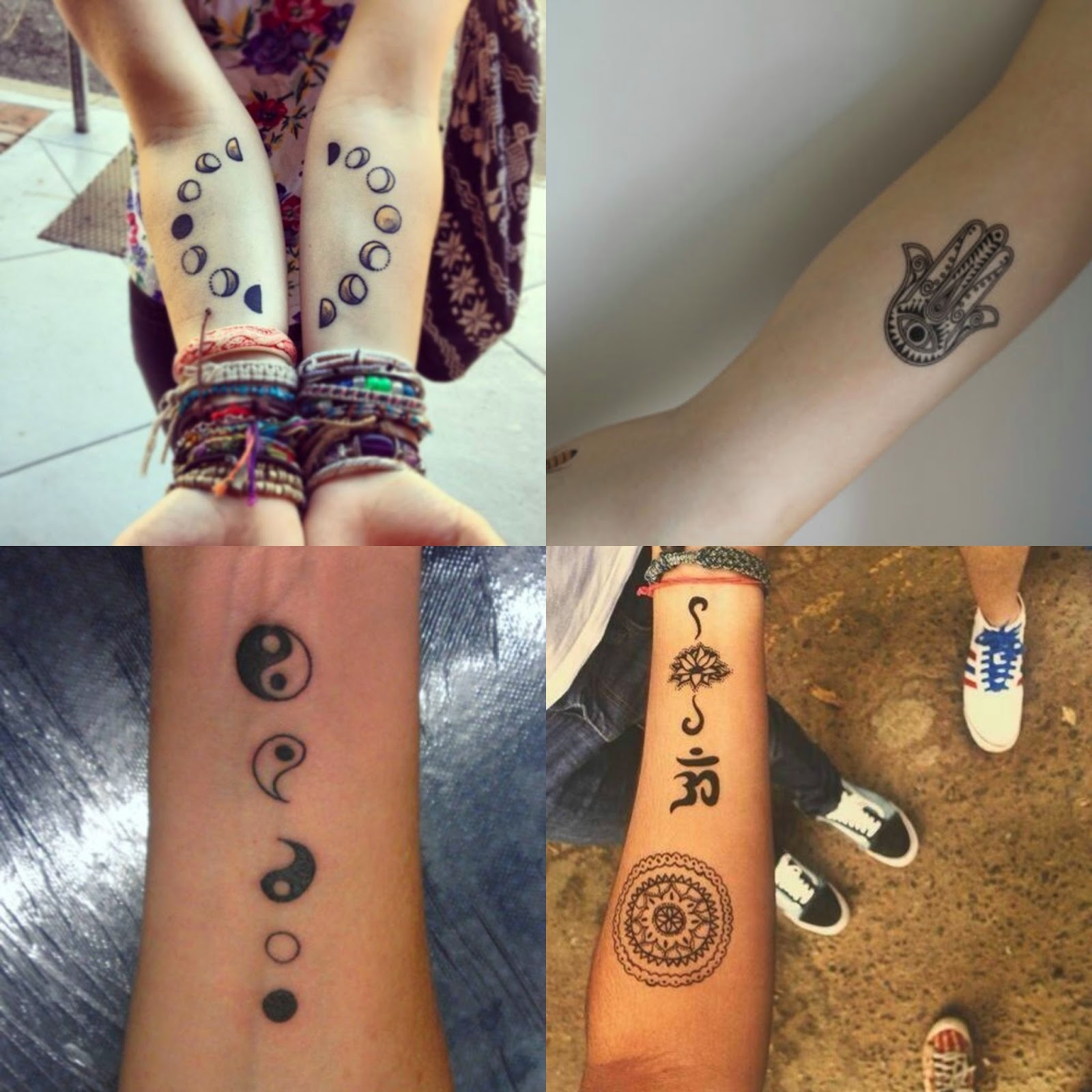 hippie tattoos photo - 12