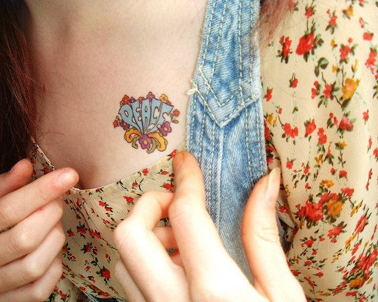 hippie tattoos photo - 14