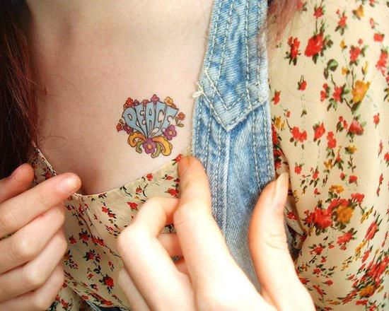 hippie tattoos photo - 14