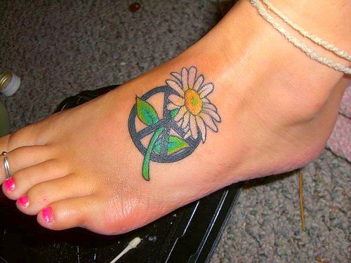 hippie tattoos photo - 18