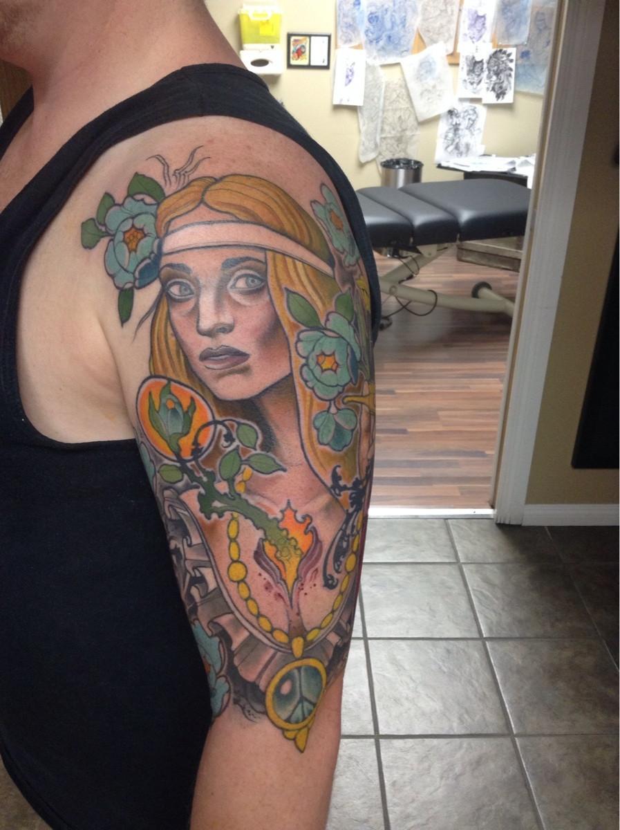 hippie tattoos photo - 20
