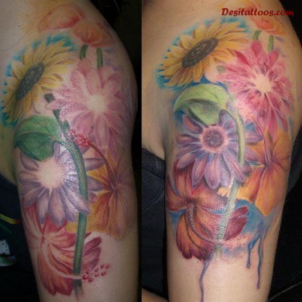 hippie tattoos photo - 21