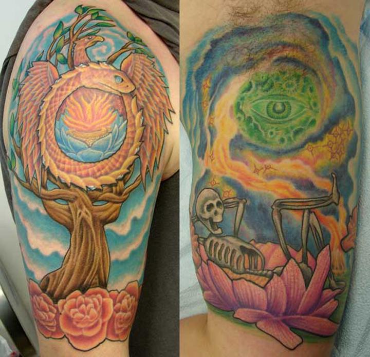 hippie tattoos photo - 3