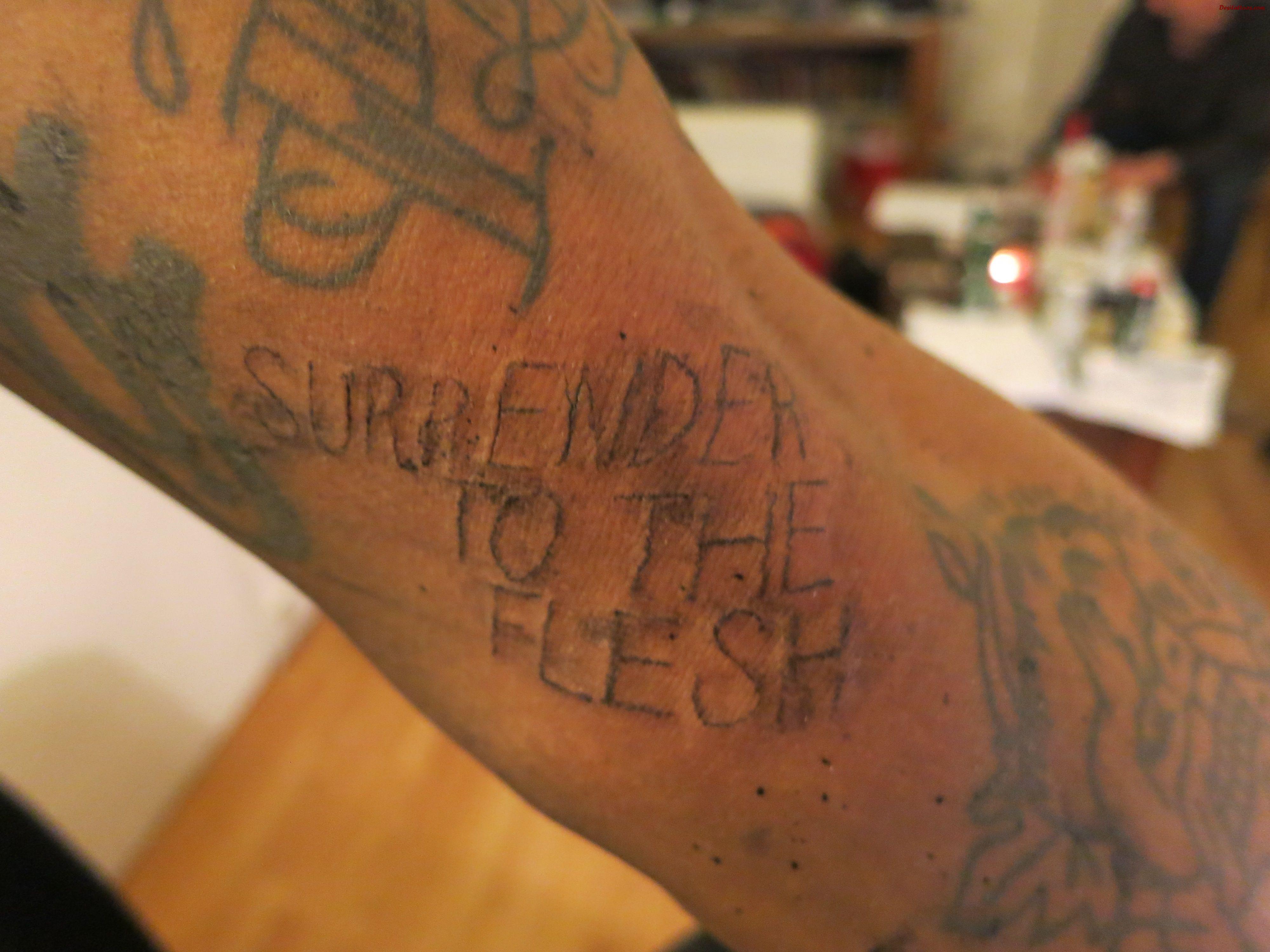 homemade tattoos photo - 18