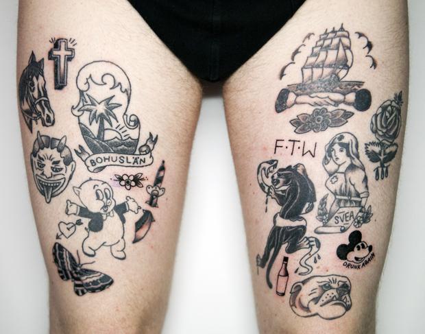homemade tattoos photo - 31