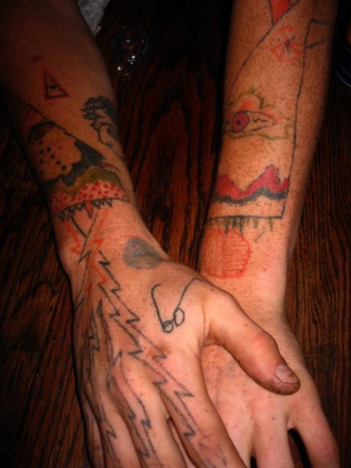 homemade tattoos photo - 9