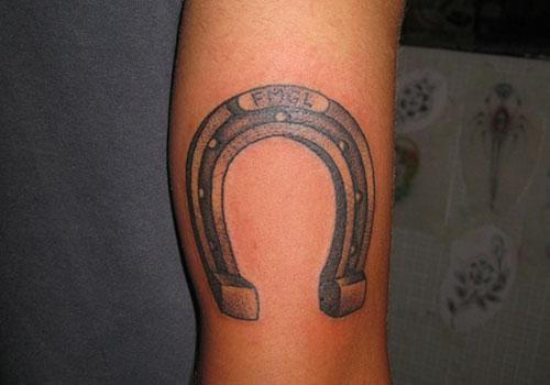 horse & horseshoe tattoos photo - 20