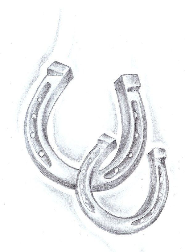 horse & horseshoe tattoos photo - 41
