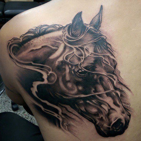 horse & horseshoe tattoos photo - 45