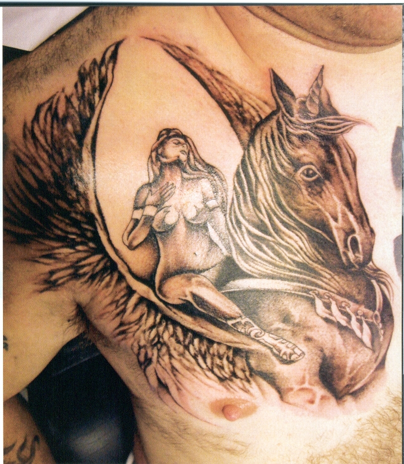 horse & horseshoe tattoos photo - 47
