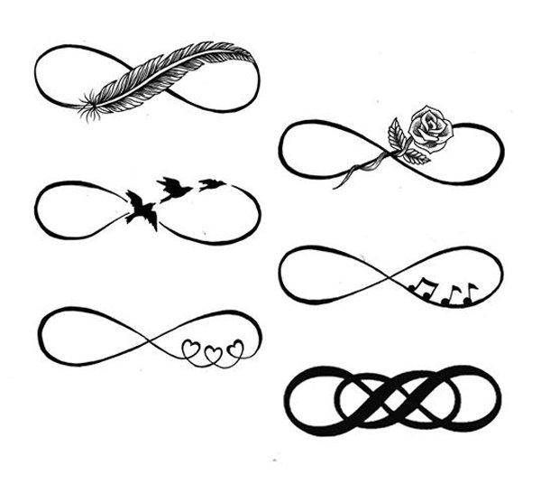 infinity symbol tattoos photo - 25