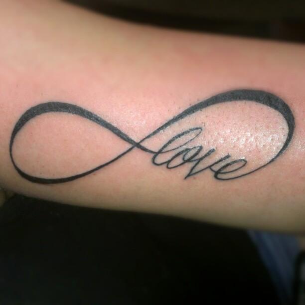 Infinity Symbol Tattoos Tattoo Ideas And Design
