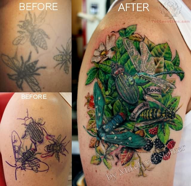 insect tattoos photo - 14