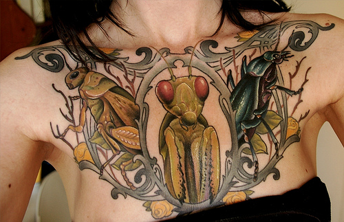 insect tattoos photo - 23