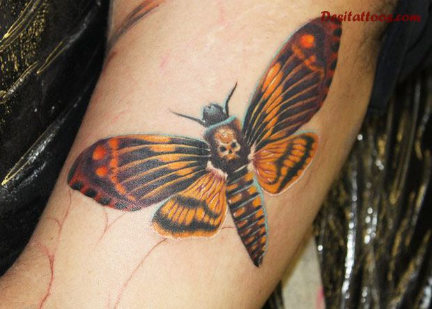 insect tattoos photo - 24