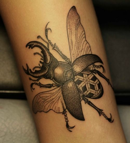 insect tattoos photo - 30
