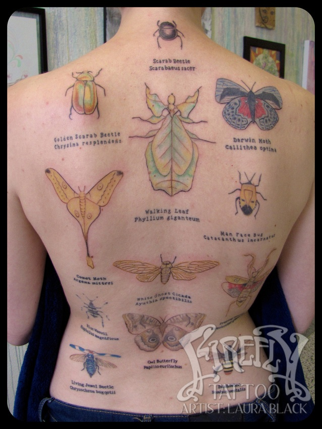 insect tattoos photo - 34