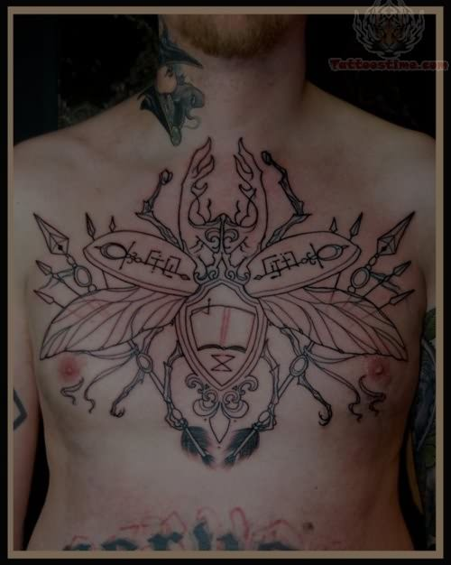 insect tattoos photo - 37