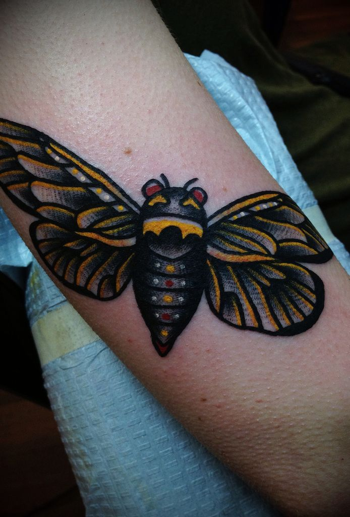 insect tattoos photo - 7