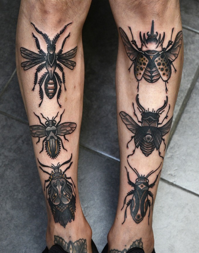 insect tattoos photo - 8