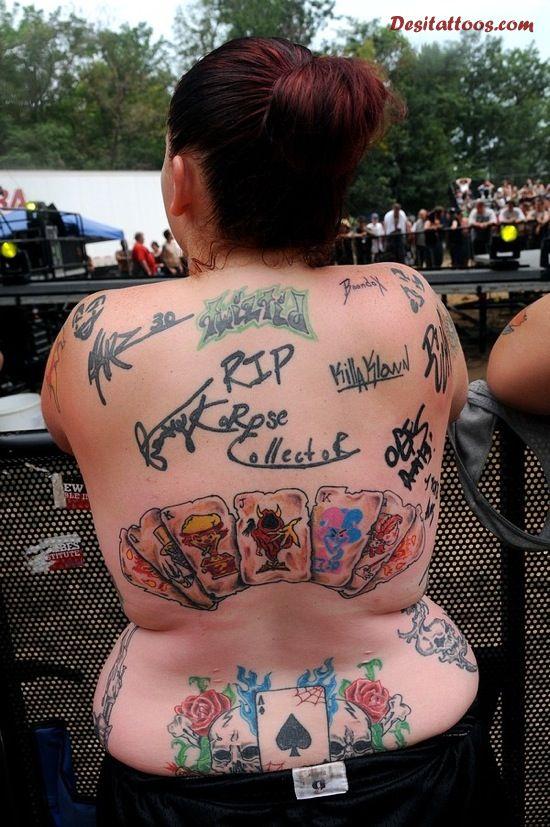 juggalo tattoos photo - 32