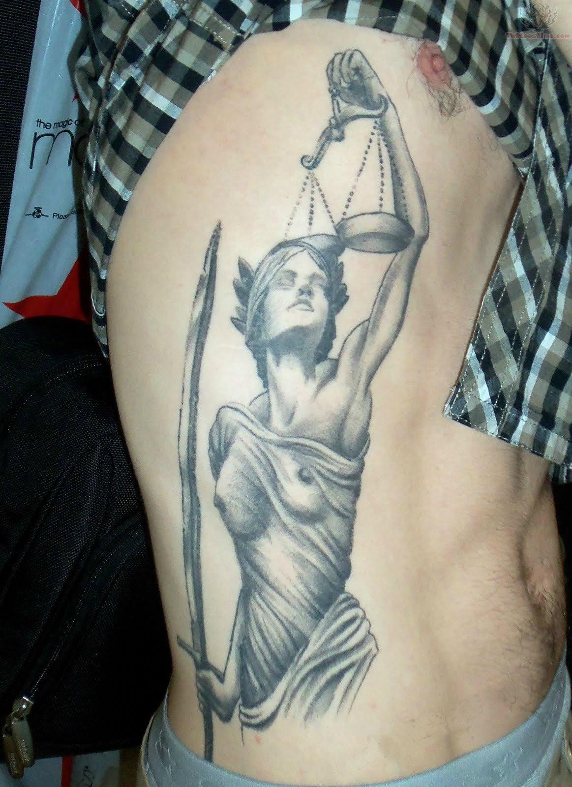 justice tattoos photo - 12