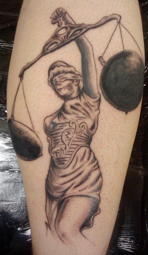 justice tattoos photo - 17