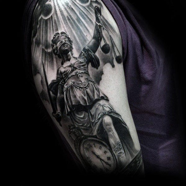 justice tattoos photo - 18