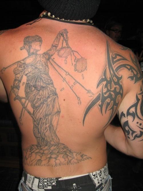 justice tattoos photo - 25