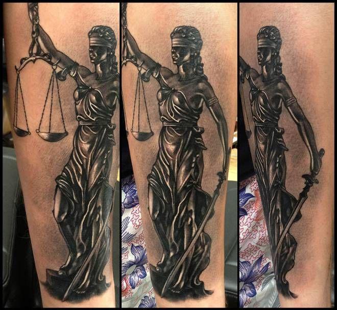 justice tattoos photo - 28