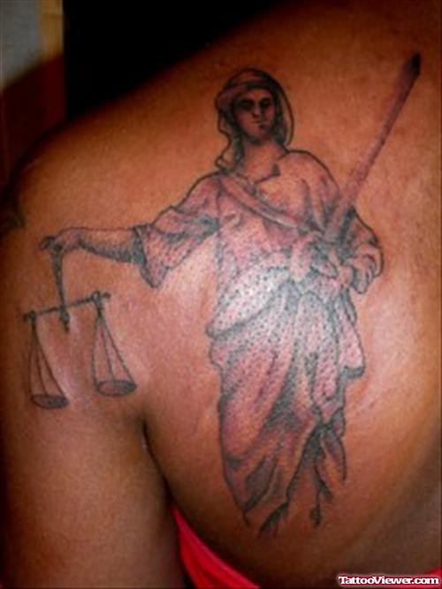 justice tattoos photo - 29