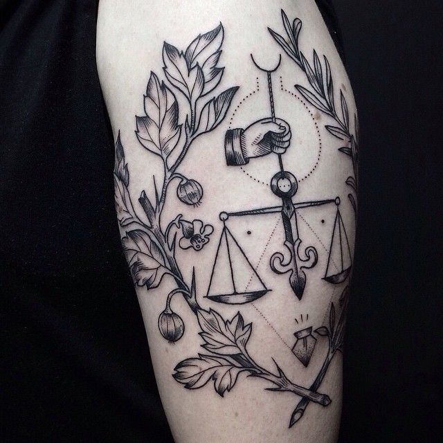 justice tattoos photo - 3