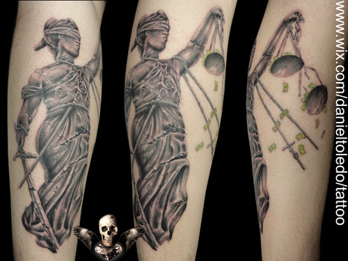 justice tattoos photo - 32