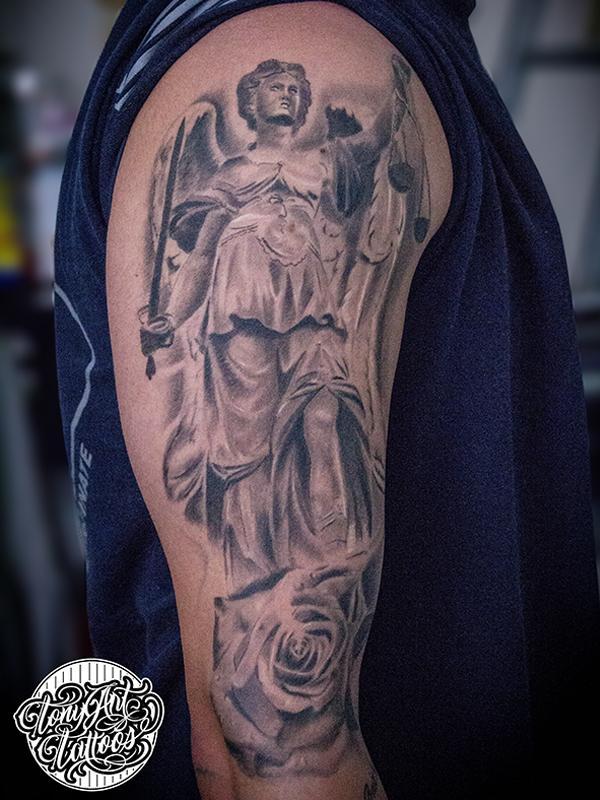 justice tattoos photo - 33
