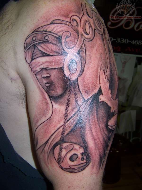 justice tattoos photo - 34