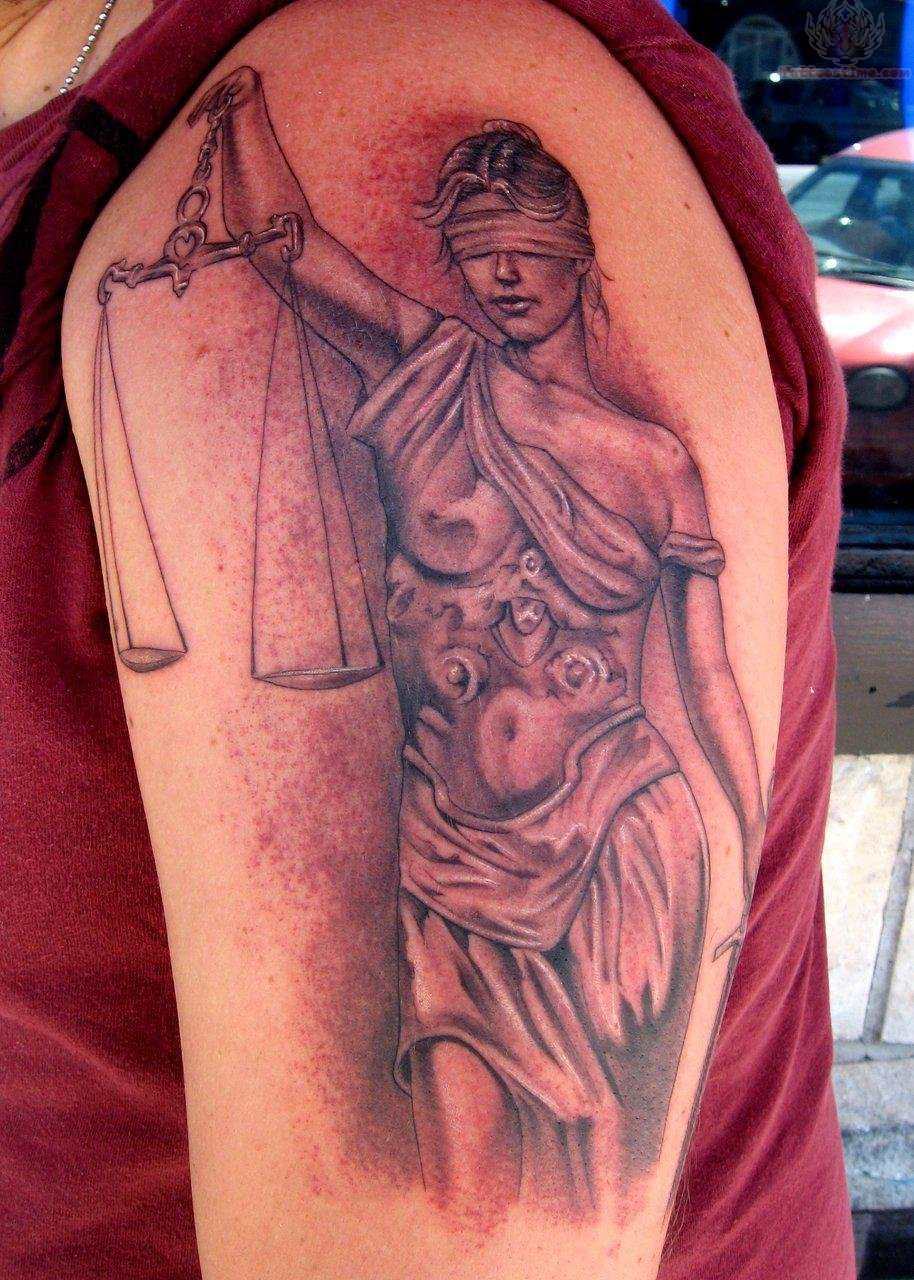 justice tattoos photo - 4