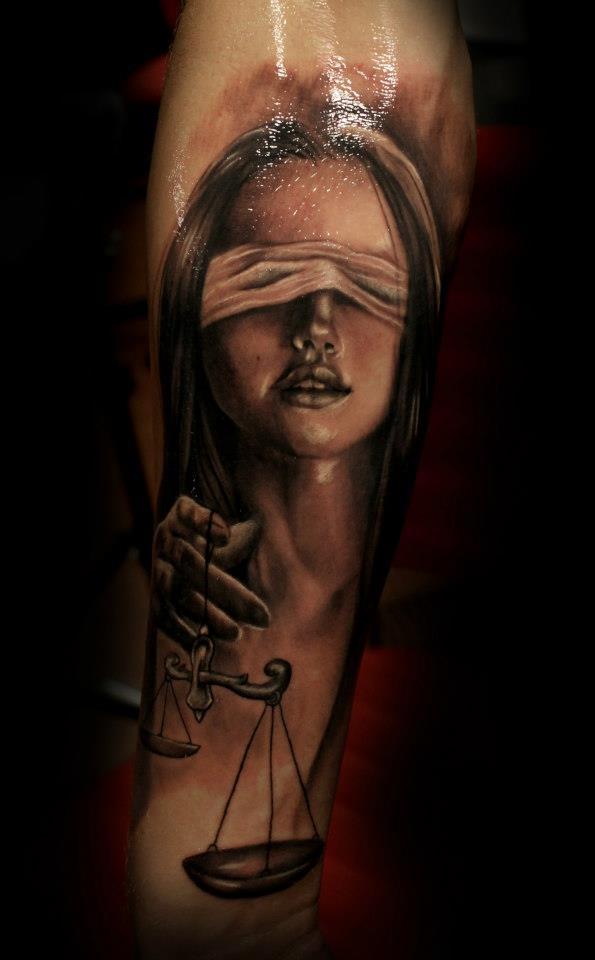 justice tattoos photo - 6