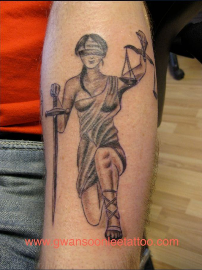 justice tattoos photo - 8