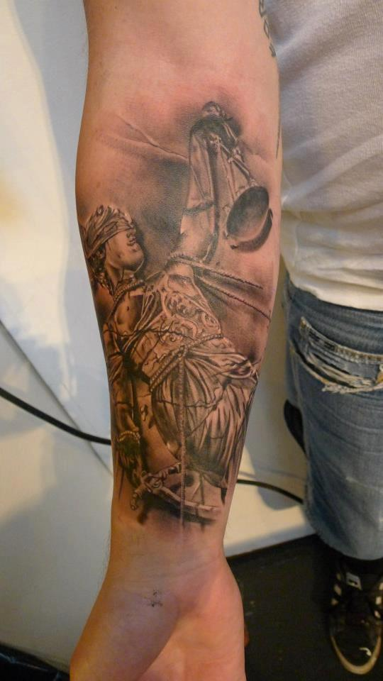 justice tattoos photo - 9