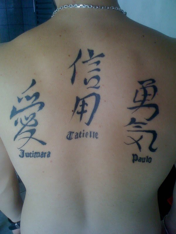 kanji tattoos photo - 15