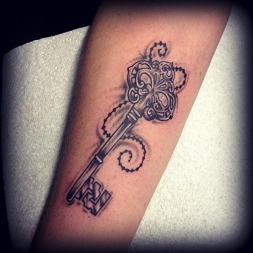 key tattoos photo - 18