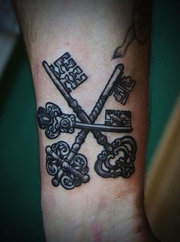 key tattoos photo - 31