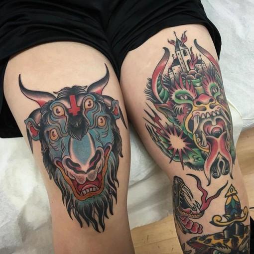 knee tattoos photo - 11