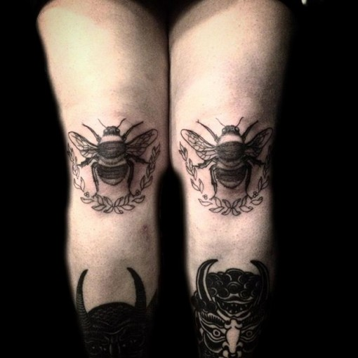 knee tattoos photo - 12