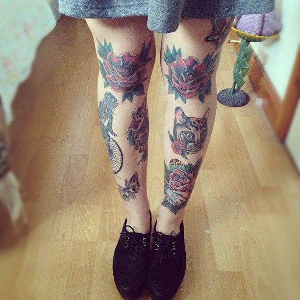 knee tattoos photo - 15