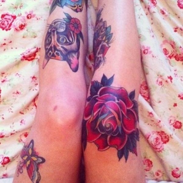 knee tattoos photo - 17