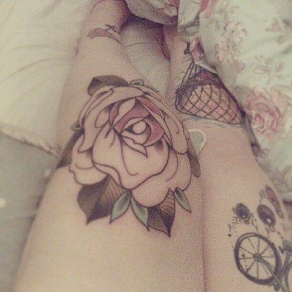 knee tattoos photo - 18