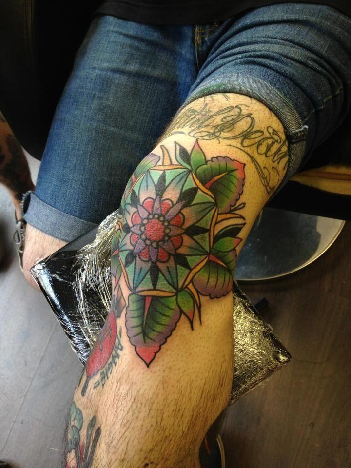 knee tattoos photo - 22